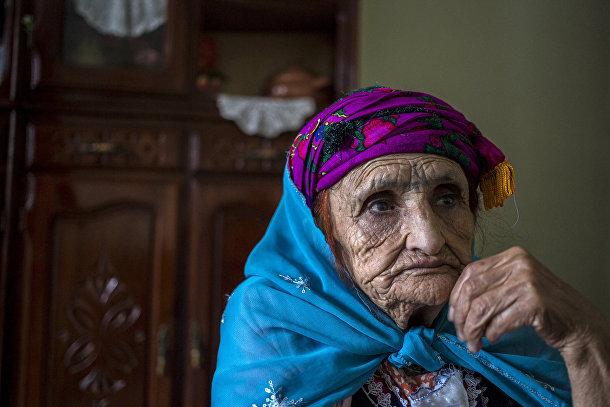 Джена Бензахра, берберка из Алжира