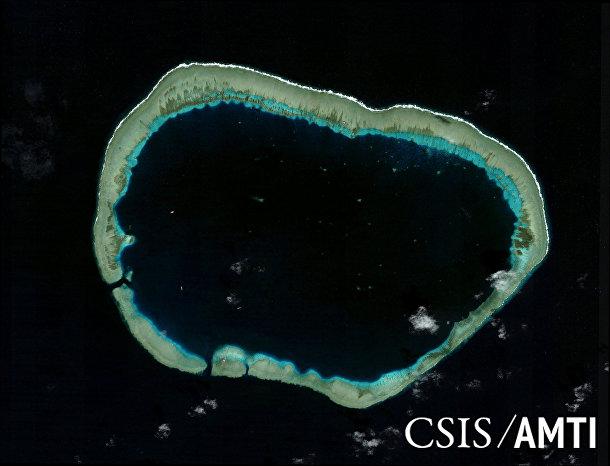 Риф Мисчиф в Южно-Китайском море в 2006 году