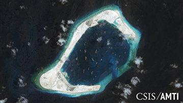 Риф Суби в Южно-Китайском море