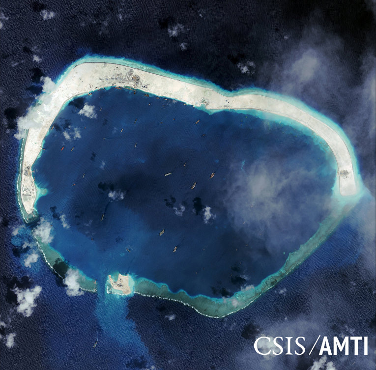 Риф Мисчиф в Южно-Китайском море