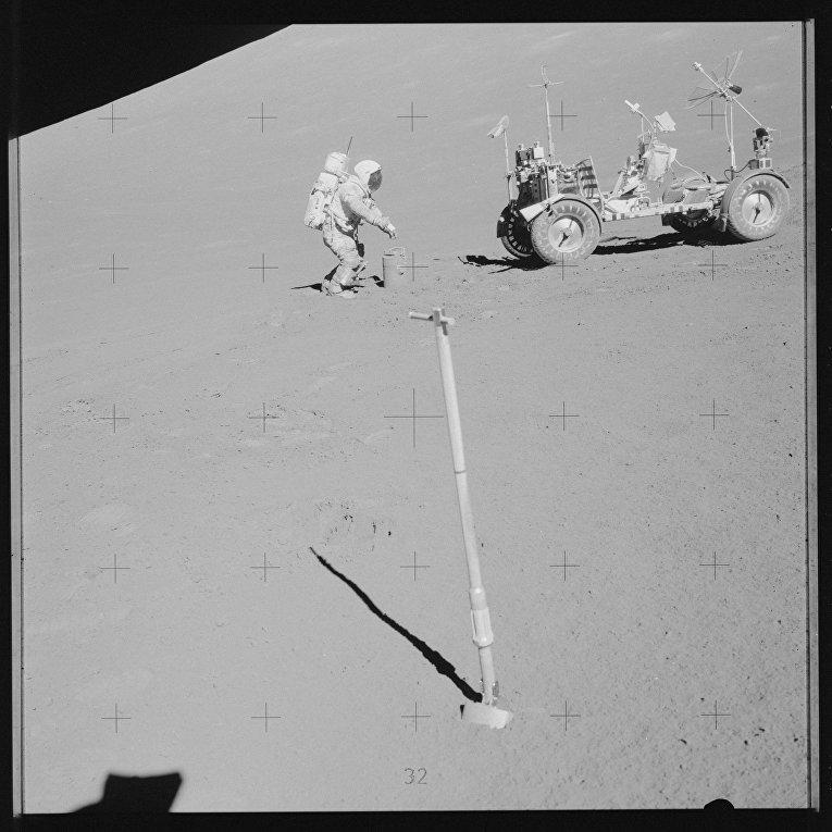 Миссия «Аполлона-17»: лунный модуль «Челенджер»