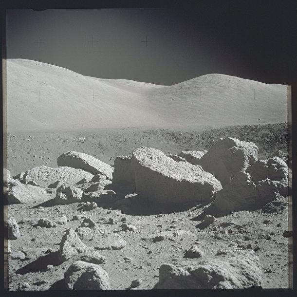 Миссия «Аполлона-17»: поверхность Луны