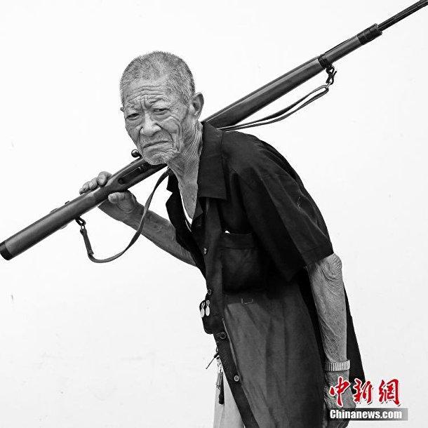 Китайские ветераны на фотографиях Ли Люя