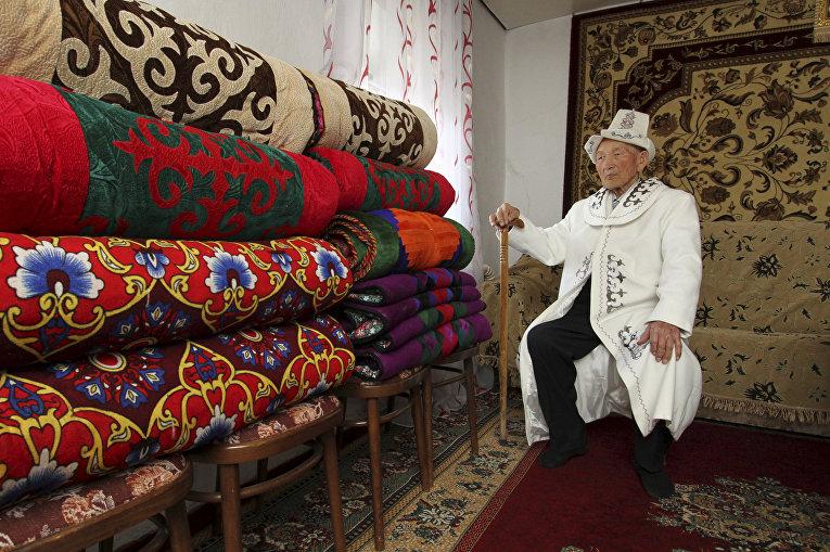 Ветеран Великой отечественной войны из Киргизии Абла Бегалиев