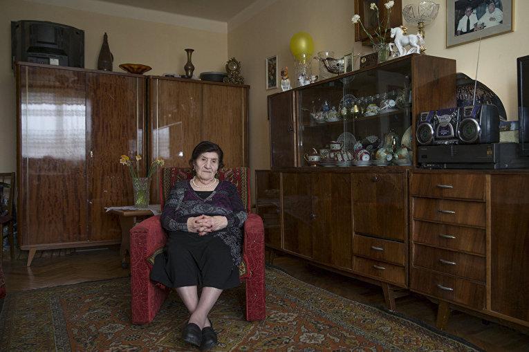 Ветеран Великой отечественной войны из Армении Розалия Агбарян