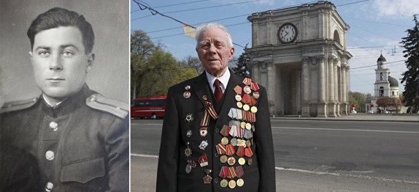 Ветеран Великой отечественной войны из Молдавии Георгий Парул