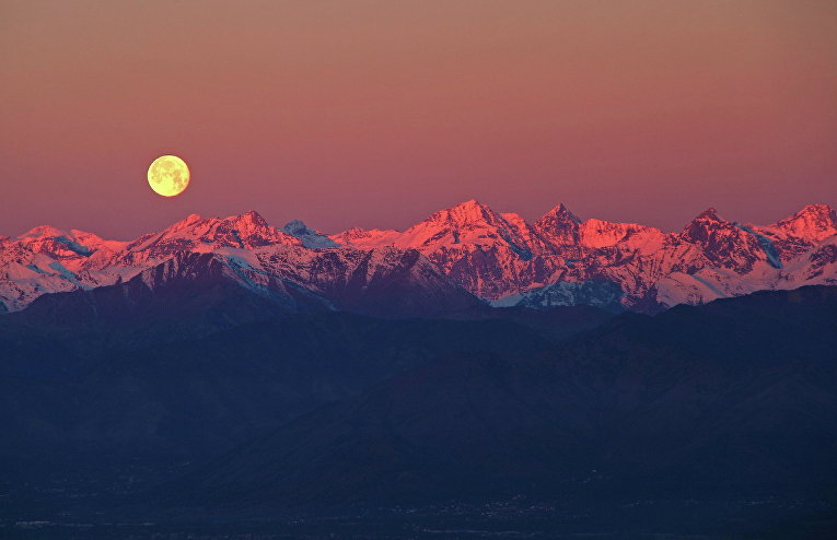 Полнолуние в Альпах