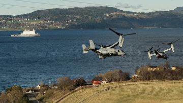 """Совместные учения НАТО Trident Juncture 2018 (""""Единый трезубец"""") в Норвегии"""
