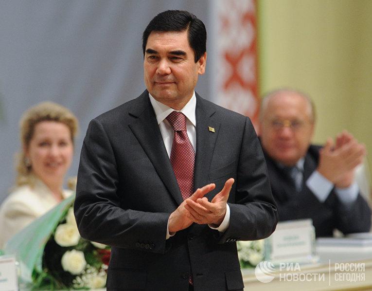 Президент Туркменистана Гурбангулы Бердымухамедов на VII Форуме творческой и научной интеллигенции стран СНГ