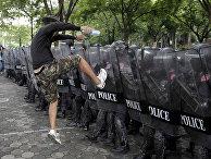 Учения Королевской полиции Таиланда в Бангкоке