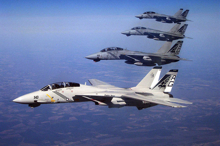Истребители-перехватчики «Грумман F-14B «Томкэт»