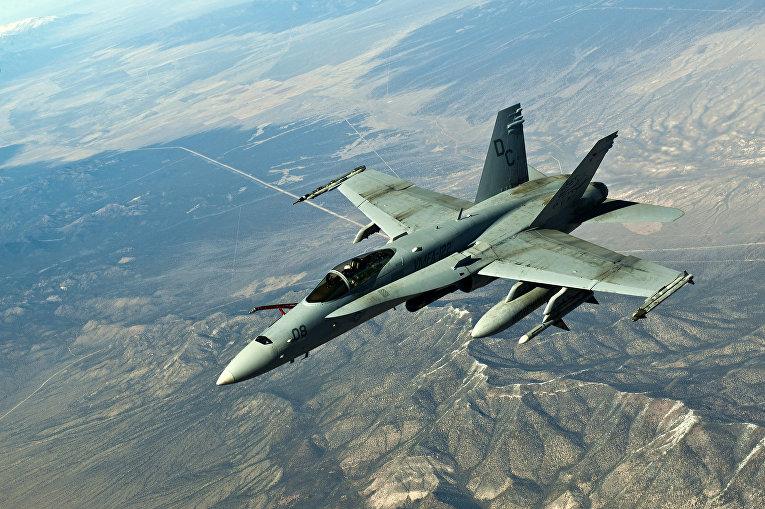 Истребитель-бомбардировщик и штурмовик «Макдоннел-Дуглас F/A-18»
