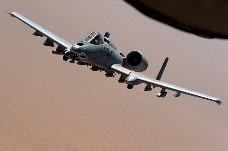 Американский штурмовик «Фэйрчайлд Рипаблик A-10 «Тандерболт» II»