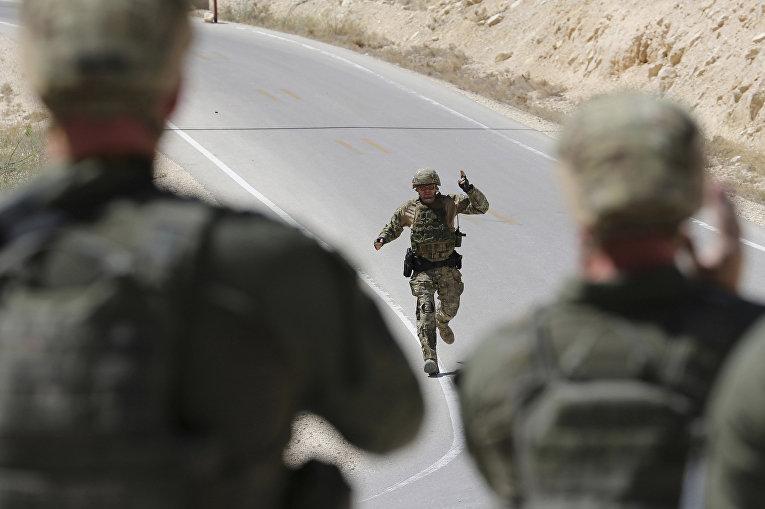 Солдаты из России и США на 6-х ежегодных соревнованиях военных подразделений под эгидой короля Иордании Абдаллы II