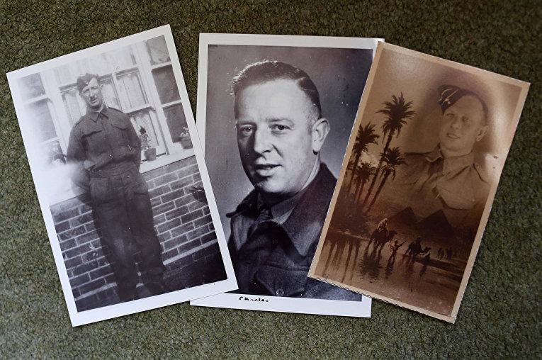Фотографии братьев Сесиля, Чарли и Кортни Ньюис, прошедших Вторую мировую войну и вернувшихся в дважды благословенную деревню Стоклинч