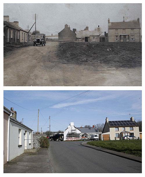Дважды благословенная деревня Хербрандстон в период между Первой и Второй мировыми войнами и в настоящее время