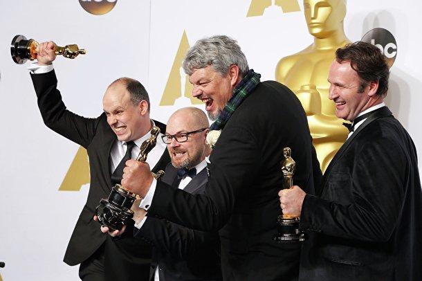 """Победители премии """"Оскар"""" в номинации за лучшие визуальные эффекты за фильм """"Интерстеллар"""""""