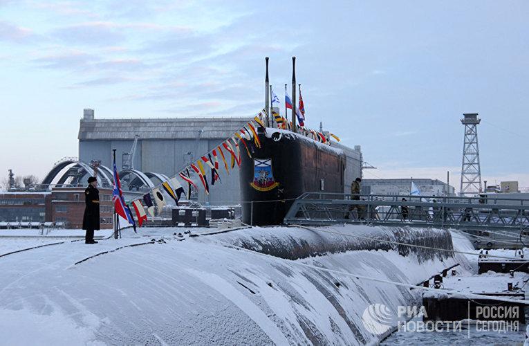 Атомная подводная лодка «Юрий Долгорукий» проекта 955 «Борей»