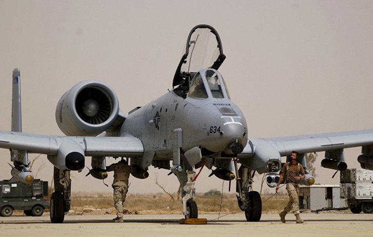 Штурмовик A-10 Thunderbolt II «Бородавочник»