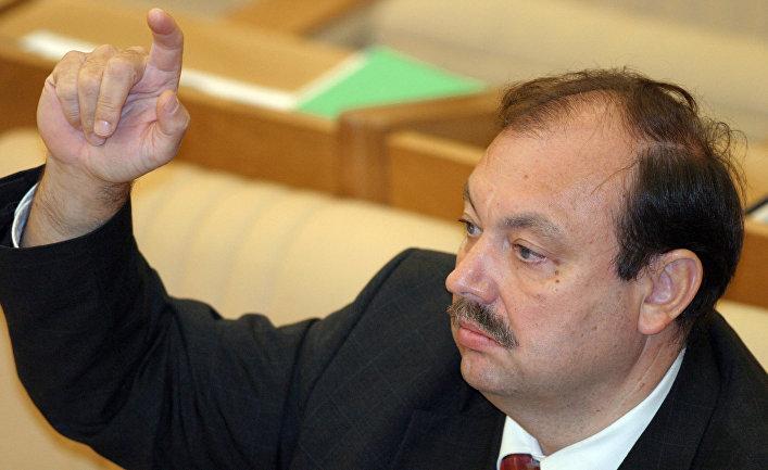 Геннадий Гудков на заседании Государственной думы РФ