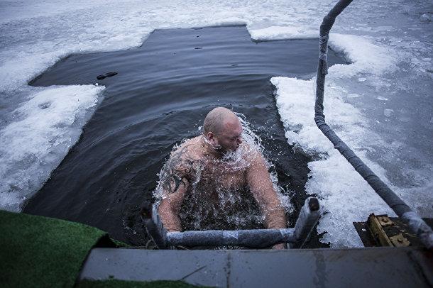 Празднование Крещения в Донецке