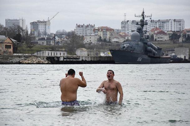Празднование Крещения в Севастополе