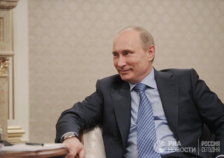 """Встреча Владимира Путина с руководством компании """"Эни"""""""