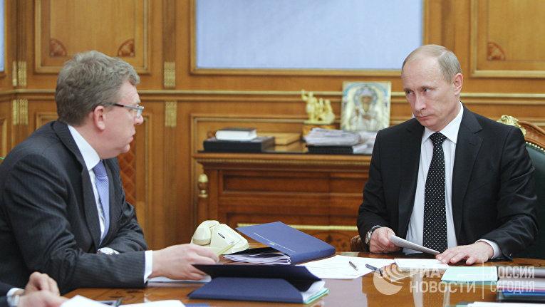 Премьер-министр РФ Владимир Путин провел совещание в Доме правительства РФ