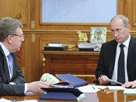 Владимир Путин провел совещание в Доме правительства РФ