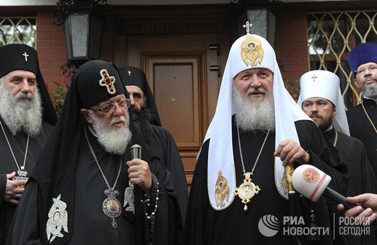 Визит Святейшего Патриарха Кирилла на Украину