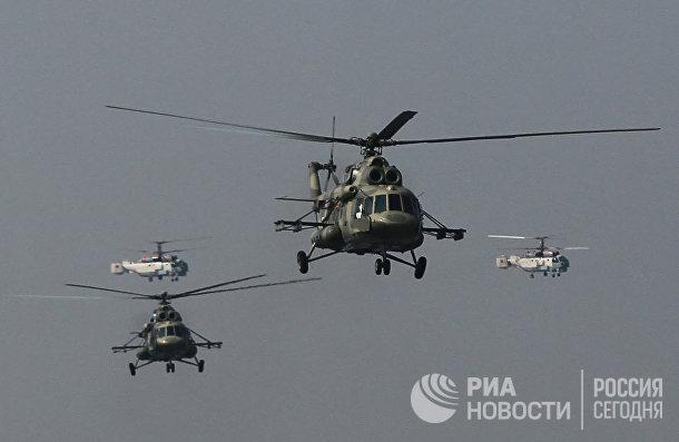 Вертолеты Ми-17