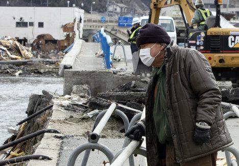 Новое мощное землетрясение в Японии 7 апреля 2011 года