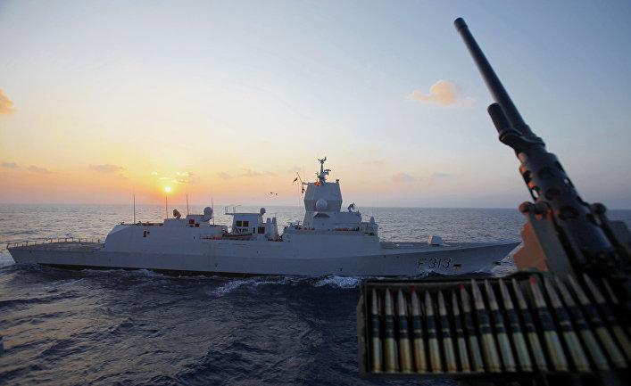 Норвежский фрегат «Хельге Ингстад»
