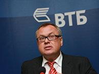 """Президент, председатель правления ОАО """"Банк ВТБ"""" Андрей Костин"""