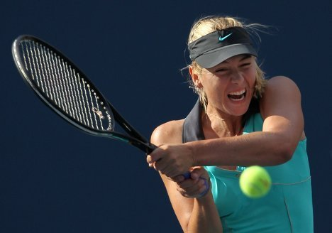 Мария Шарапова выбыла из теннисного US Open-2010