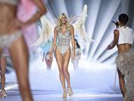 Показ Victoria's Secret в Нью-Йорке