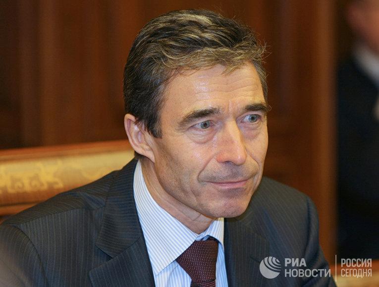 Генеральный секретарь НАТО Андерс Фог Расмуссен,