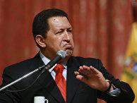 Президент Венесуэлы Уго Чавес прибыл с визитом в Москву