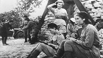 Советские лётчицы во время Великой Отечественной войны