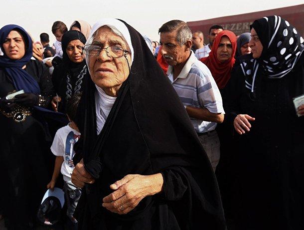 Беженцы из Мосула
