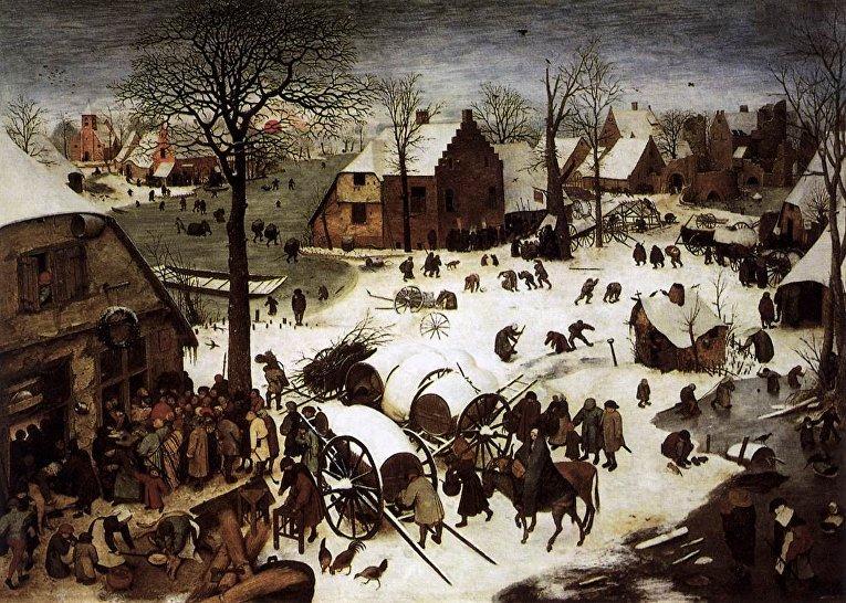 Питер Брейгель Старший «Перепись в Вифлееме» (1566)