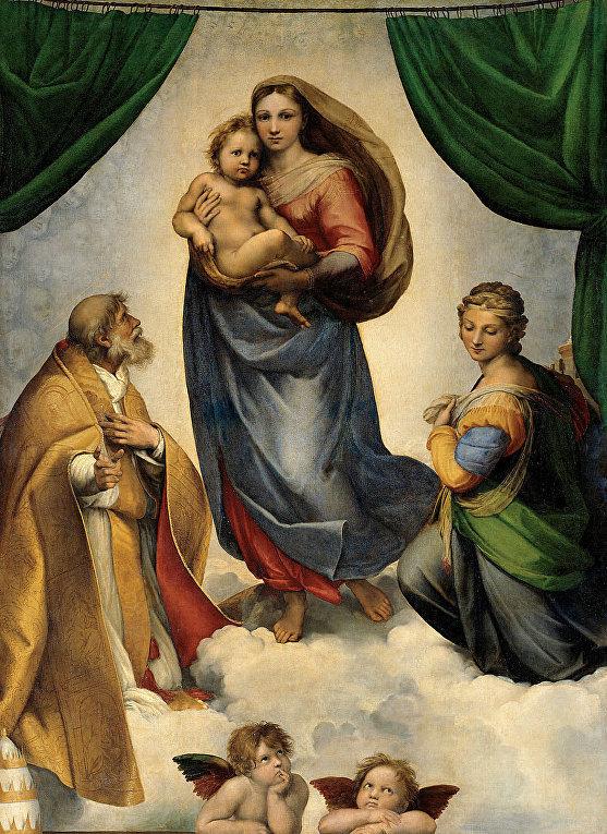 Рафаэль «Сикстинская Мадонна» (1512-13)