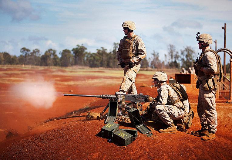 Пулемет M-2 калибра 12,7 мм