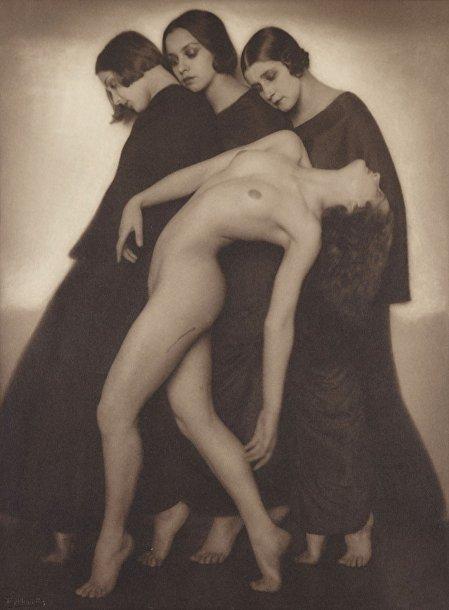 Рудольф Коппитц «Этюд, передающий движение», 1926