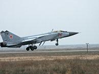 МиГ-31 на взлете