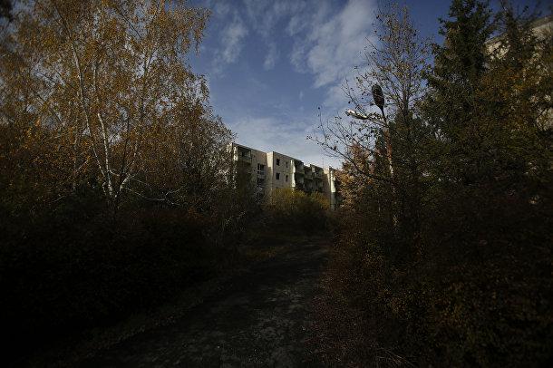 Заброшенная военная база рядом с городом Надьважонь в Венгрии