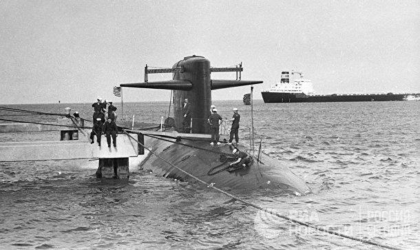 Американская атомная подводная лодка «Гринлинг» типа «Пермит»