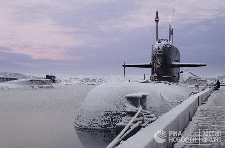 Атомная подводная лодка того же класса, что и «Курск»