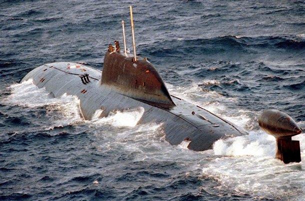 Подводная лодка К-322 «Кашалот»