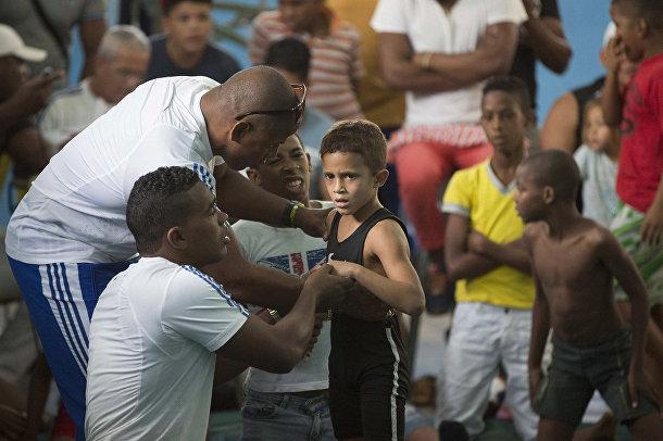 Турнир по рестлингу в Гаване
